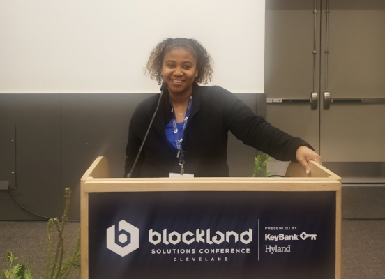 Maybe one day I'll understand enough about Blockchain to speak at the conference…LOL...It could happen