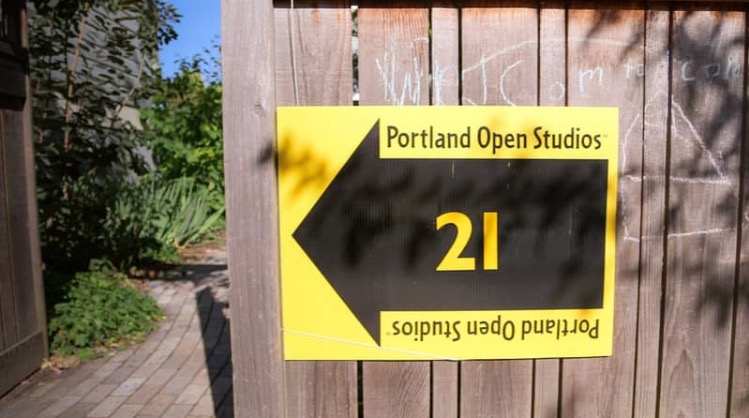 Portland Open Studios Tour video