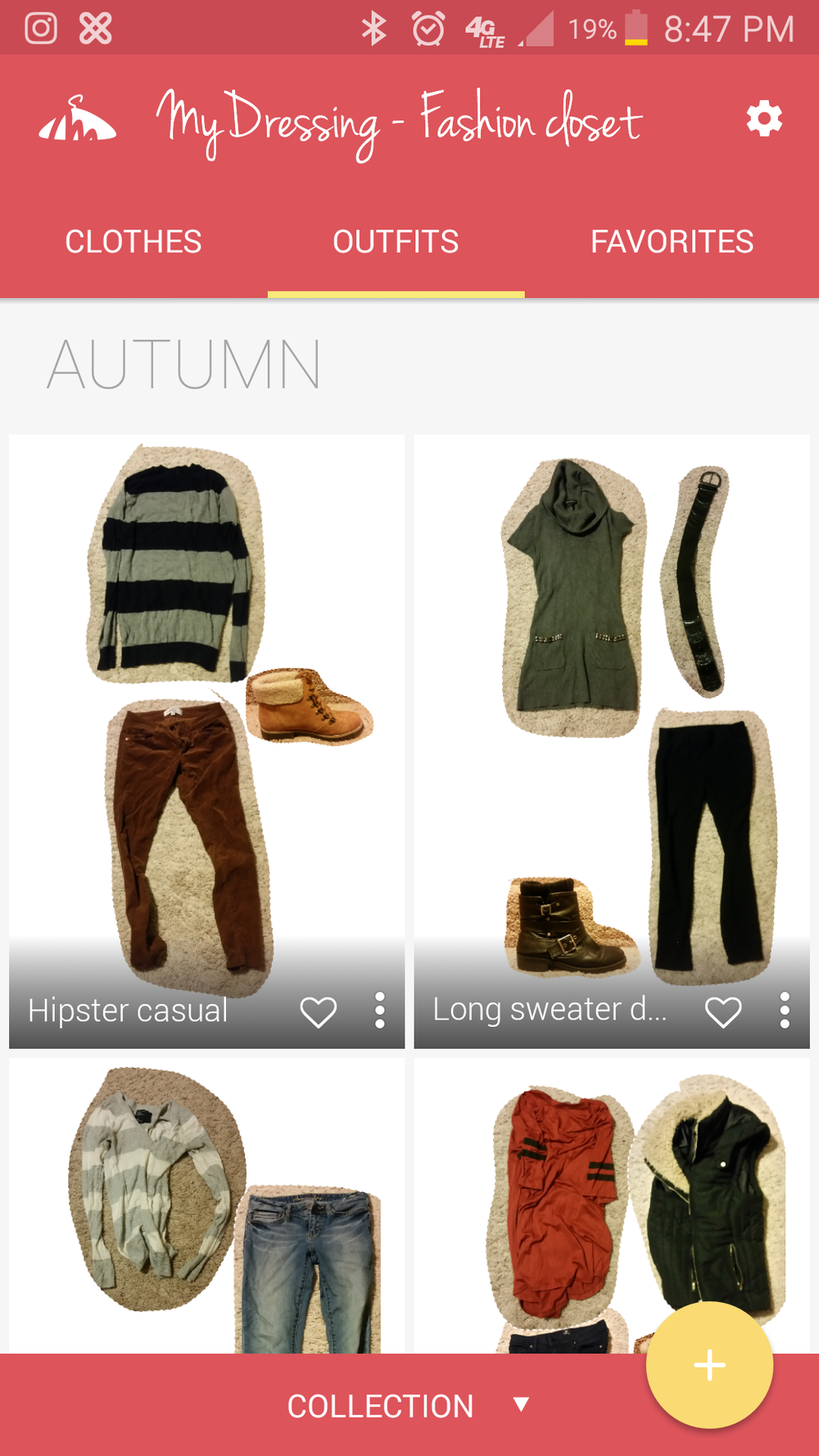 My Dressing App