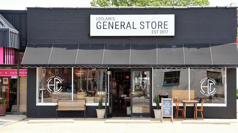 Right At Home In Leclair's General Store -