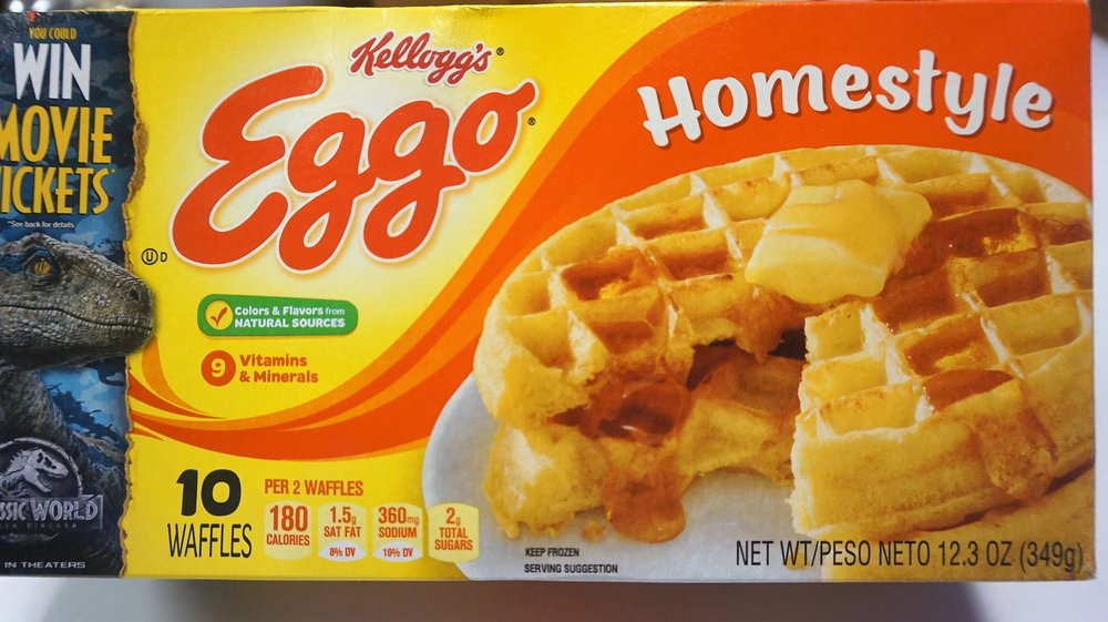 Kelloggs Homestyle Waffles
