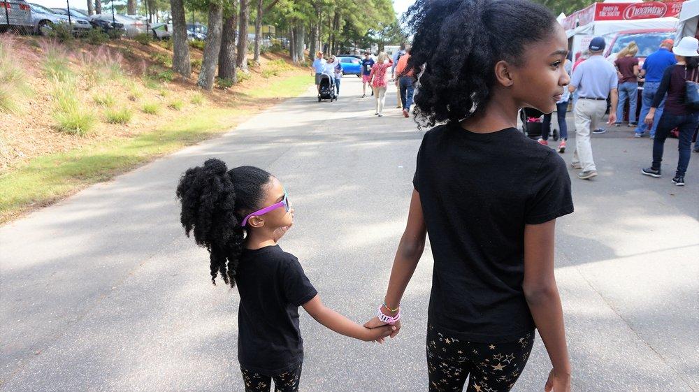 2pbgirls at NC State Fair