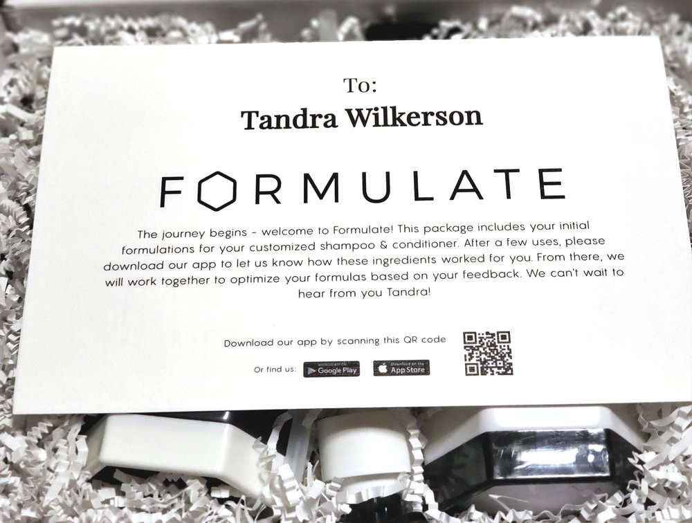 Formulate Review