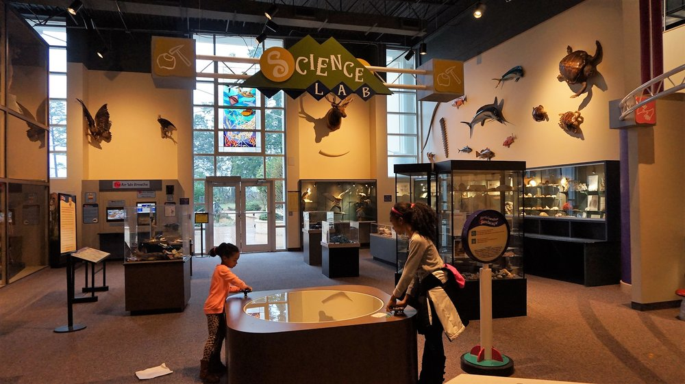 Visiting Kaleideum North Science museum -