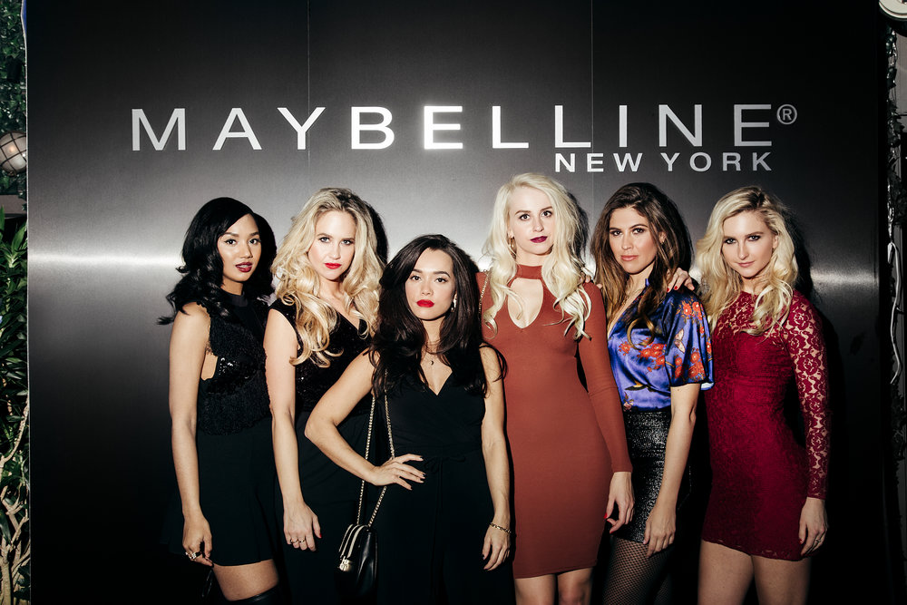 digital campaign for maybelline netherlands @NYFW