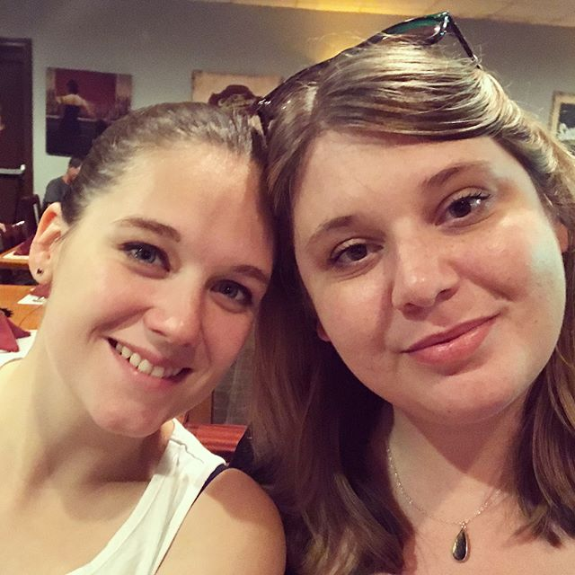 It was so wonderful to see my family last week in Richmond. ❤️🍻😊 . . . #rva #richmond #richmondva #virginia #family #love #cousins #sister #mekongrestaurant #familyvisit #familyvacation