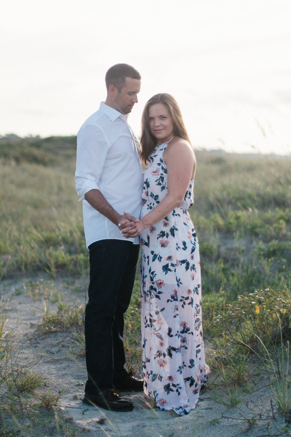 Engaged couple at Kiawah Island Beach Resort, Kiawah Island South Carolina by Danielle Gallo Photography