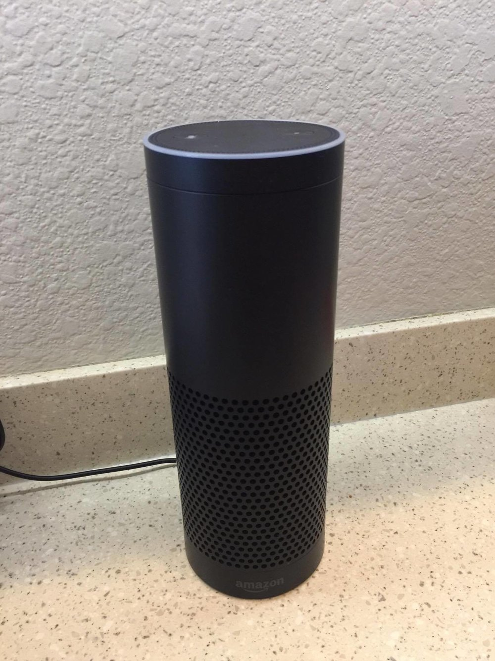 Amazon Echo - Increase independence for people with disabilities. Personal image.