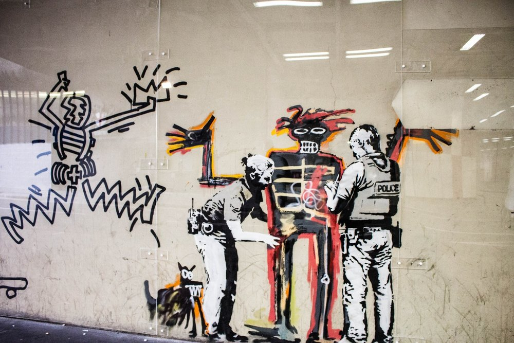 """""""Art should comfort the disturbed and disturb the comfortable."""" - ~ Banksy"""