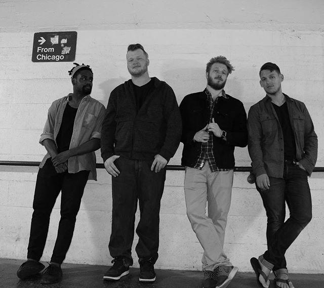 Show announcement coming soon! Gallery-81 gets to rock soon for a single release show! @carmen.gabriel.official  @brentsternal @jdaldrin @robertjrkelley looking good guys! • • • #music #live #life #blackandwhite #rock #rocknroll #punkrock #poppunk #guitar #sing #dance #chicago #indie #alternative #scene #single #release #show #gig