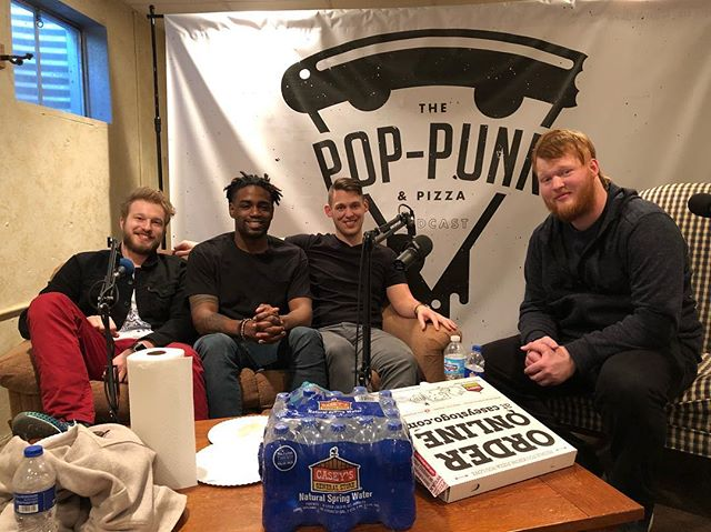 Just had a killer time doing an interview for @poppunkpizzapodcast !! Loved hanging out and had a few laughs along the way! • • • #poppunk #pizza #podcast #interview #fun #laugh #music #rocknroll #pop #punk