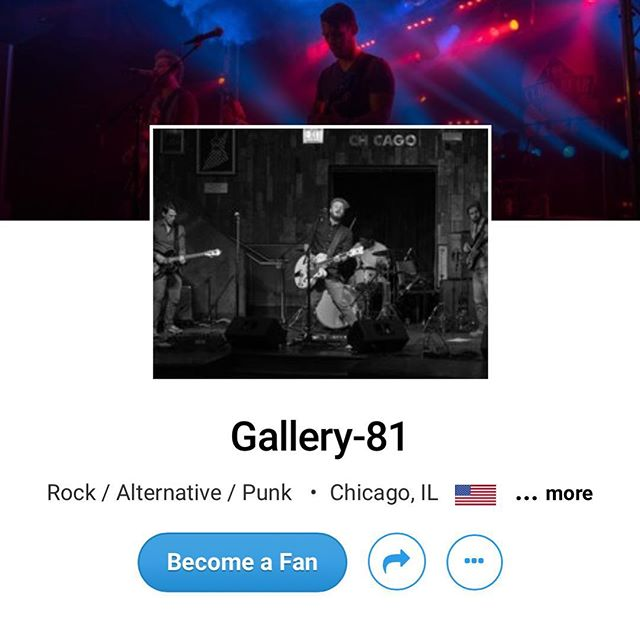 "Because of YOU, we are sitting at #18 in the rock charts in Chicago. The highest we have gotten is #7. Let's try to beat that! Head to the link below and in the bio to download our newest single ""For Granted"" FOR FREE! • BUT HURRY! We are only providing this single for free for a week, then maybe a different song will be available 😏🎸🤘🏼 • • • https://www.reverbnation.com/Gallery81official/song/29006728-for-granted • • • #music #rocknroll #chicago #poppunk #alternative #rock #punk #indie #pop #alt #scene #musician #art #life #support #artist #live #sing #freedownload #download #free"