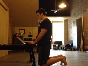 Tall kneeling