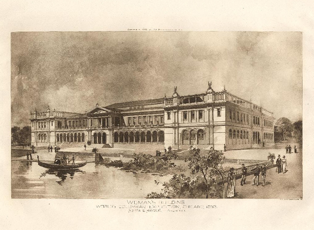 The Woman's Building at the World's Columbian Exposition, 1893