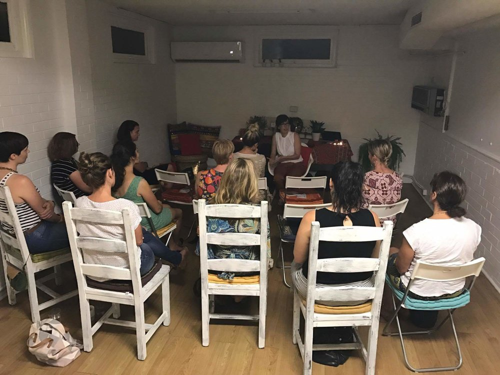 Speaking with the attendees at Conversations : Reclaim your MOJO