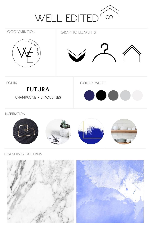 branding-board-mintgem-well-edited-co-logo