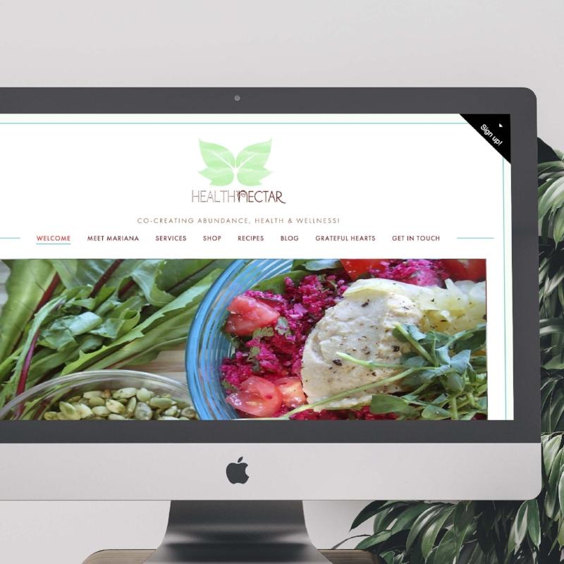 website-design-mintgem-health-nectar