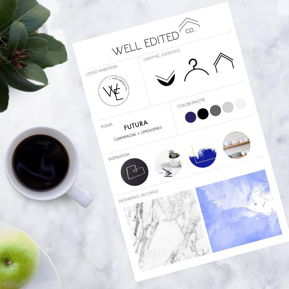 brand strategy, styling +design - Ready to establish your online presence with a design that best represent who you are? Just starting? Need a make-over? Let's get to work!
