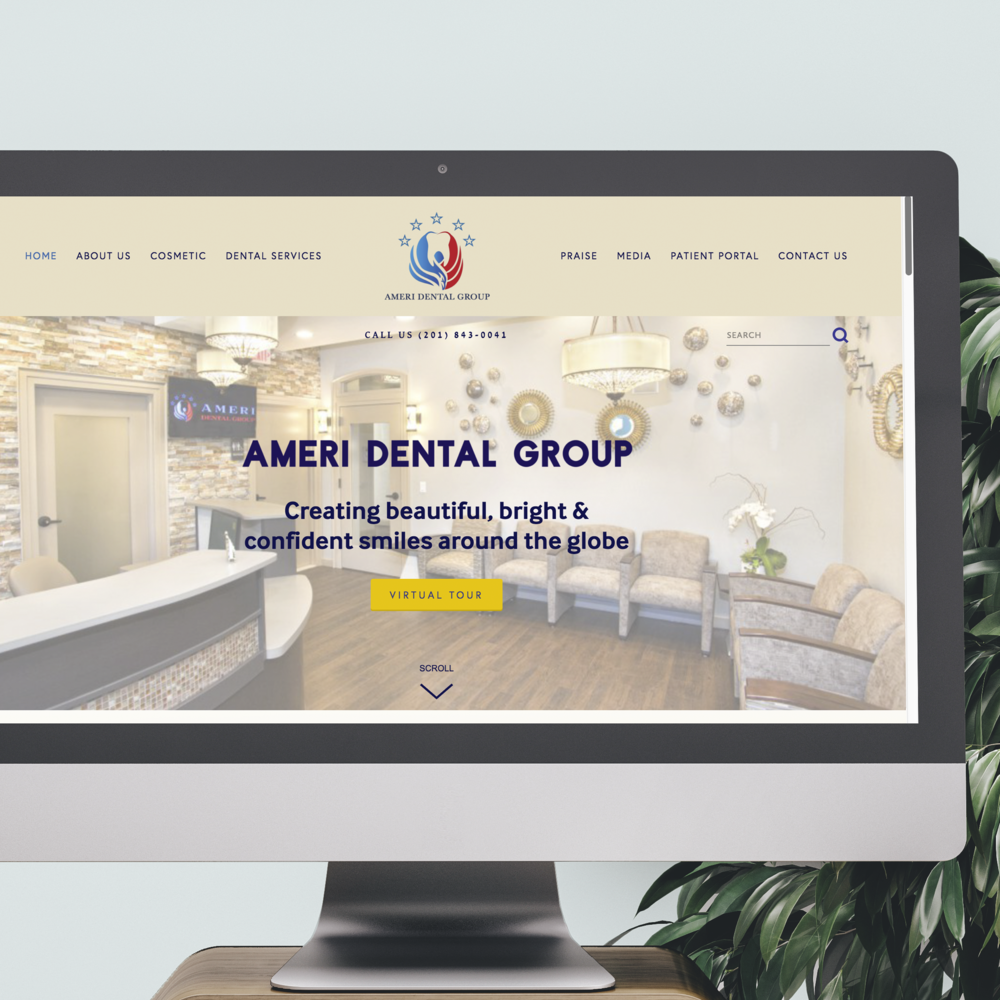 mintgem-web-design-branding-makeover-ameri-dental-group