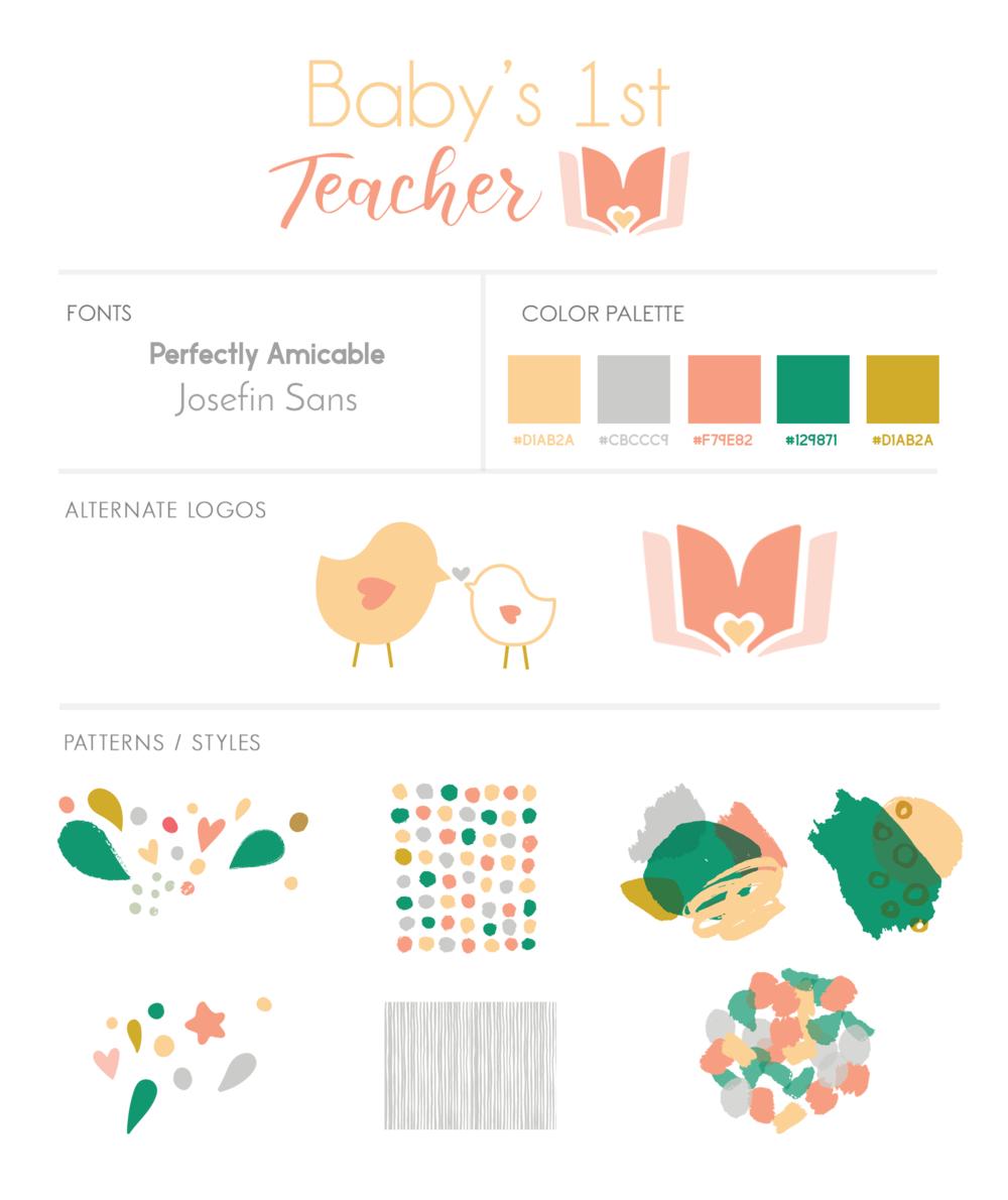 branding-logo-design-mintgem-babys-1st-teacher