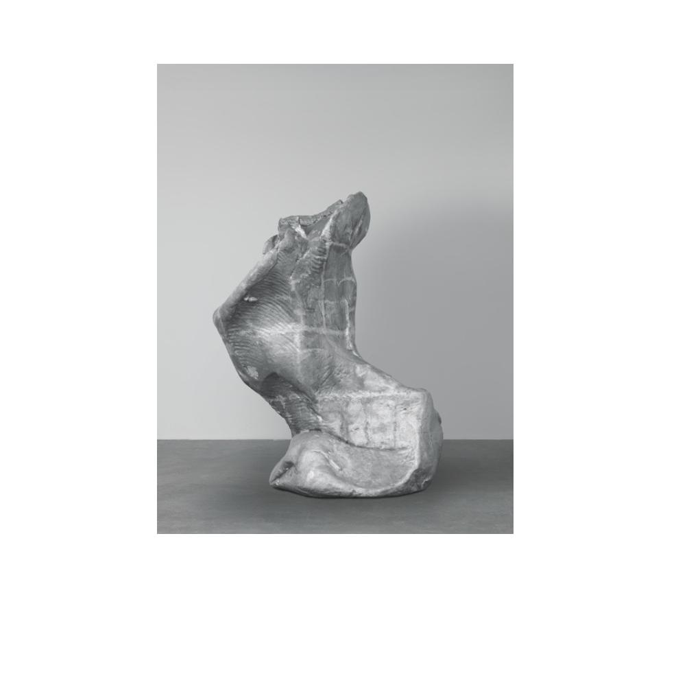 Urs Fischer, IX  ,2006-2008,Cask Aluminium ,118 1/10 × 88 3/5 × 61 7/10 in ,300 × 225.1 × 156.8 cm