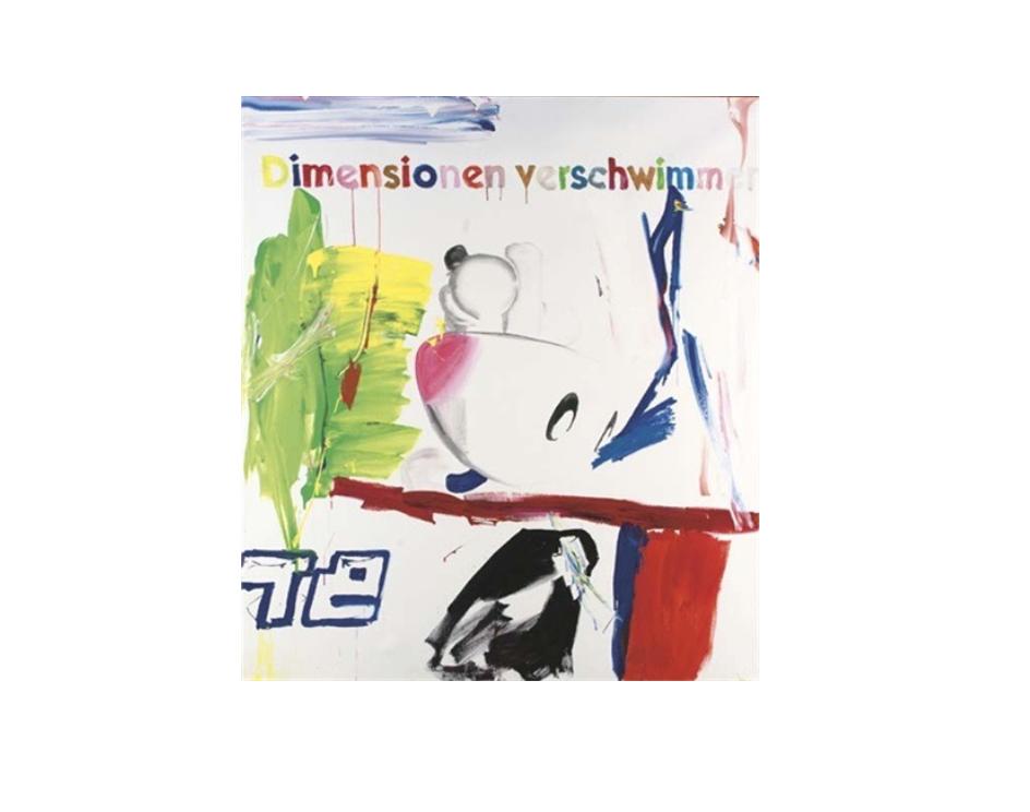 Michel Majerus,  Mom Block nr. 88  , 2000, acrylic on canvas, 200 x 180 cm, 78.7 x 70.9 in