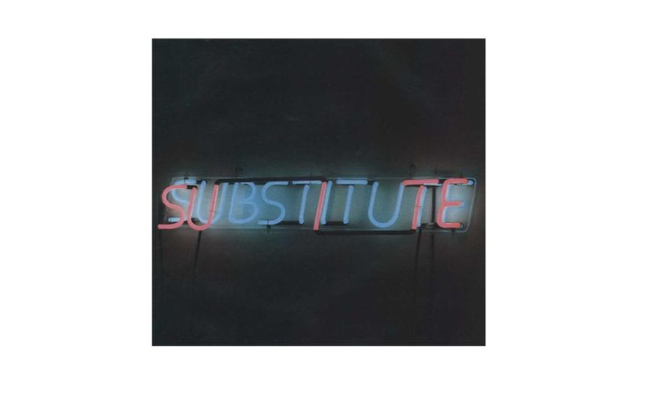 Bruce Nauman , Suite Substitute , 1968, 55 x 30 x3.5 in, 14 x 76.3 x 9 cm