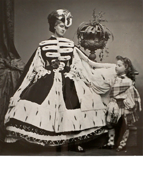 Countess de Castiglione and Her Son George , 1863/1930s