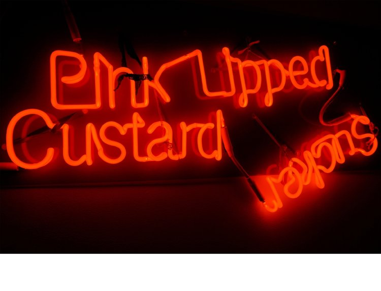Jason Rhoades,  Pink Lipped Custard Sucker,  2003