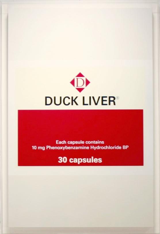 Damien Hirst, Duck Liver, 2000