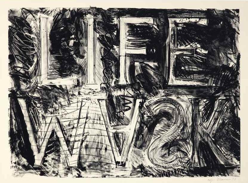 Bruce Nauman, Life Mask, 1981
