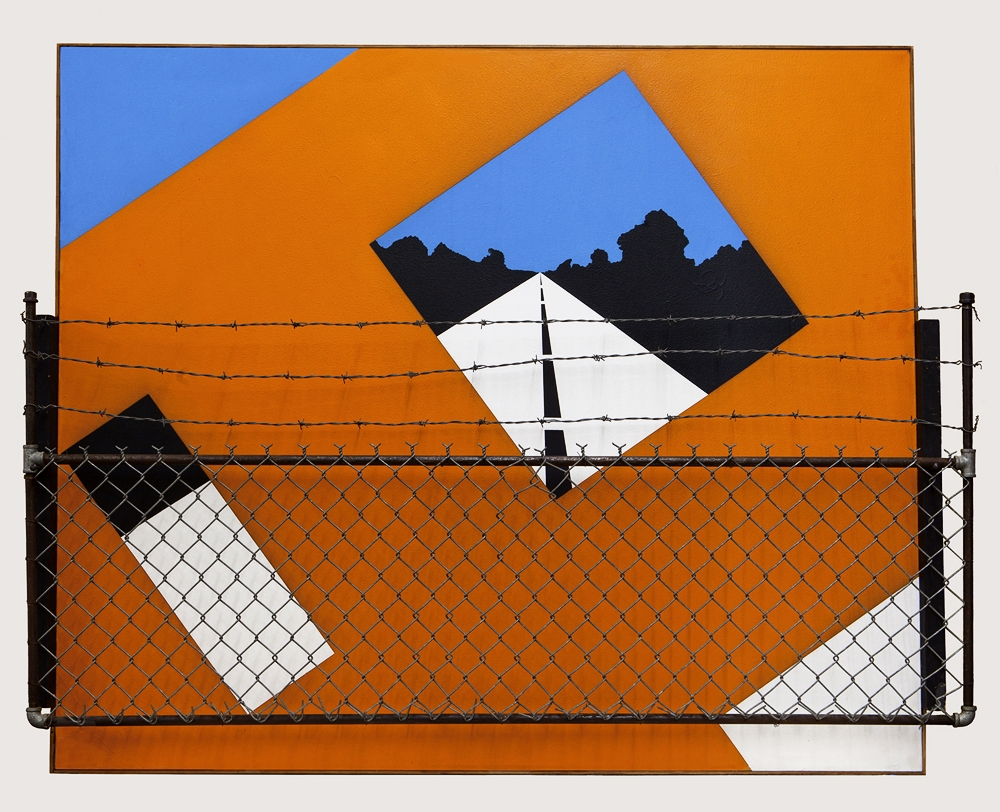 Alan D'Arcangelo,  Guard Rail,  1964