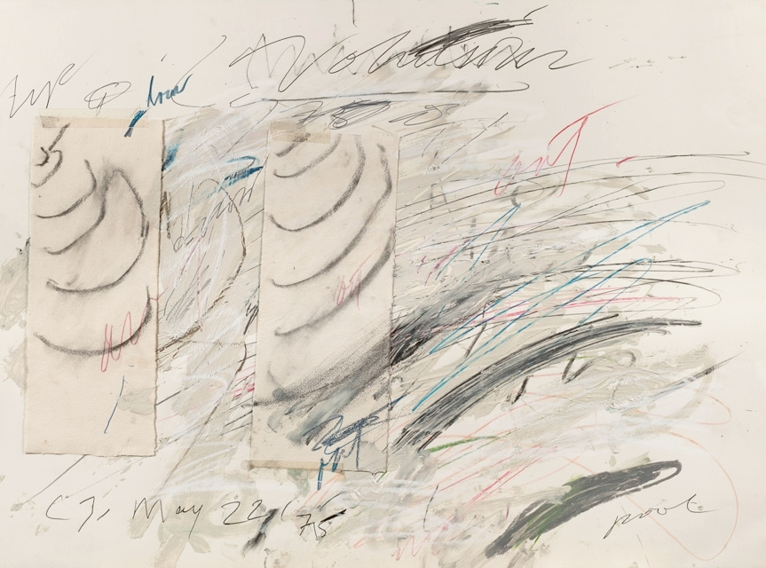 Cy Twombly,  Untitled (Mai 1975),  1975