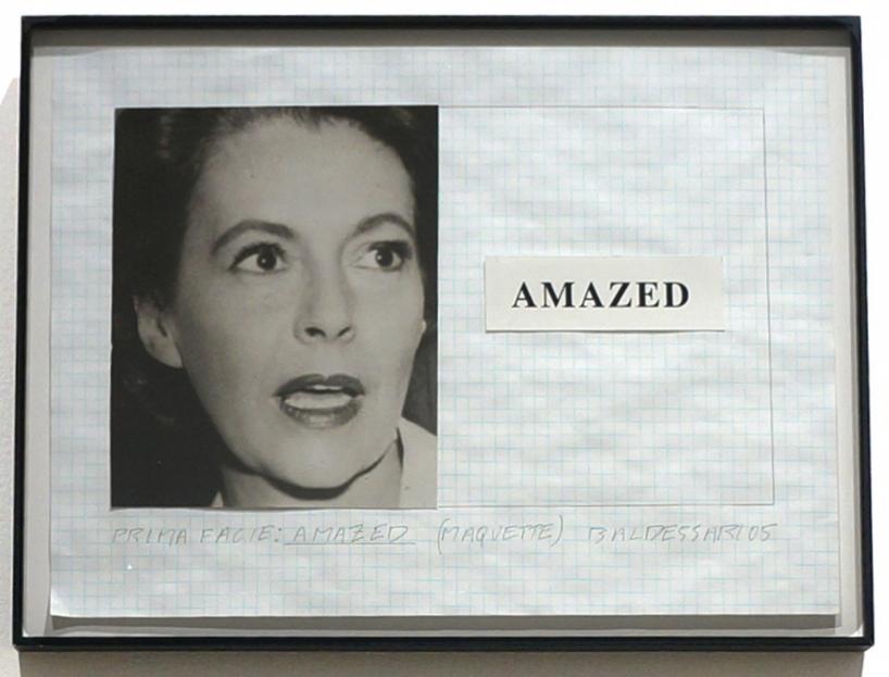 John Baldessari, Prima Facie: Amazed (Maquette), 2005