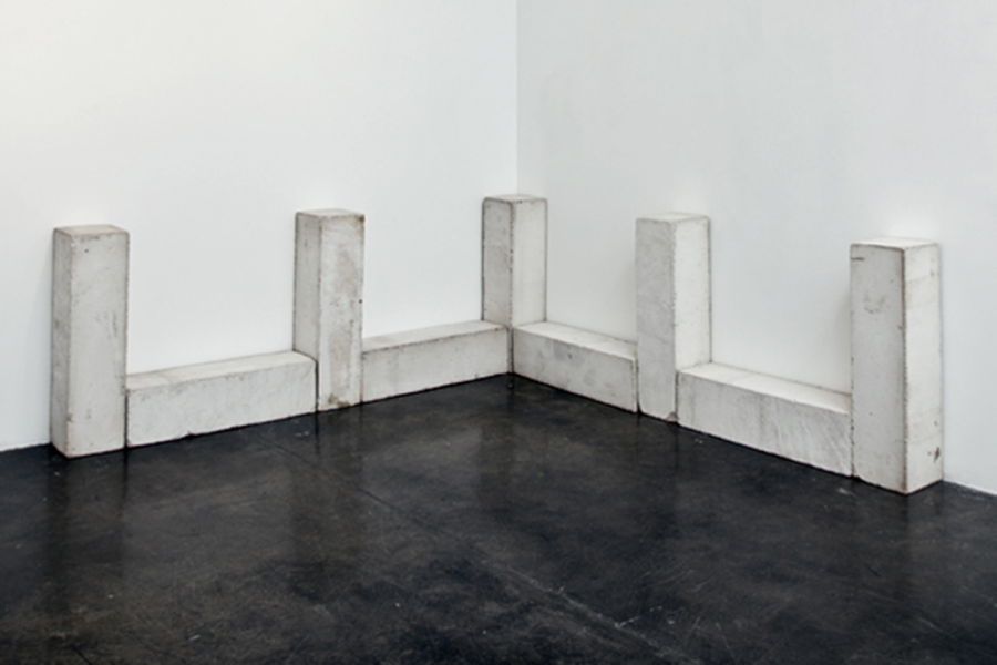 Carl Andre,  Third Piece of Nine , 1983