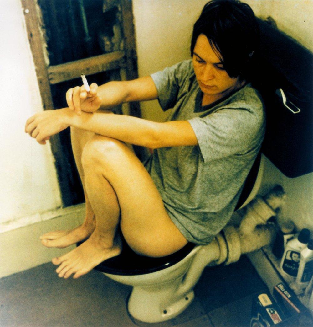 Sarah Lucas, Human Toilet Revisited, 1998