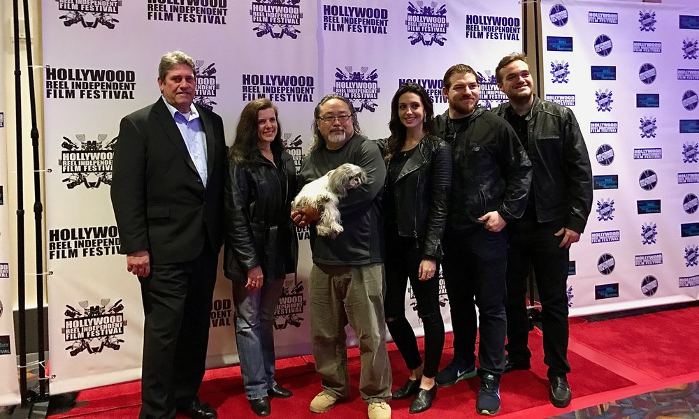 HRIFF (Hollywood Reel Independent Film Festival) Red Carpet cast and crew photo