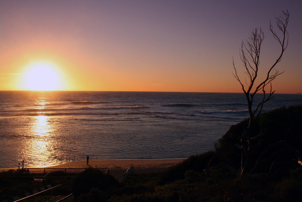 Sunset from Prevelly beach | Margaret River