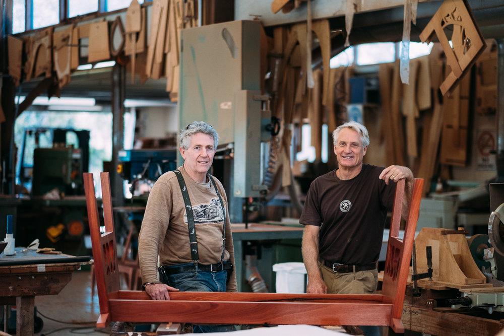 Gary Bennett & David Paris of Jah Roc Furniture  |  JAH ROC