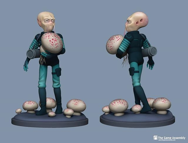 The Mycologist. #zbrush #characterdesign #3dsculpt