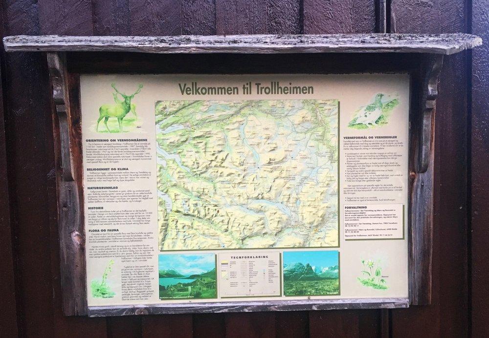 Velommen til Trollheimen! Det er mye som skal til for at vi skal ha alt tilgjengelig året rundt som turstier, skispor, hytter, fjellgarder, matservering og kultur på mange vis. Og vi har et stort ansvar alle sammen for å ta vare på alt og bruke det.Les mer;  visitnorway ,  ut.no ,  Trondhjems Turistforening ,