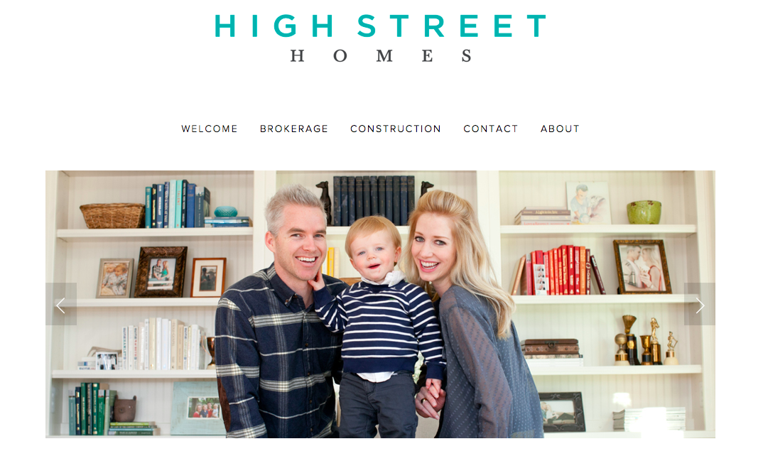 High Street Homes Homepage