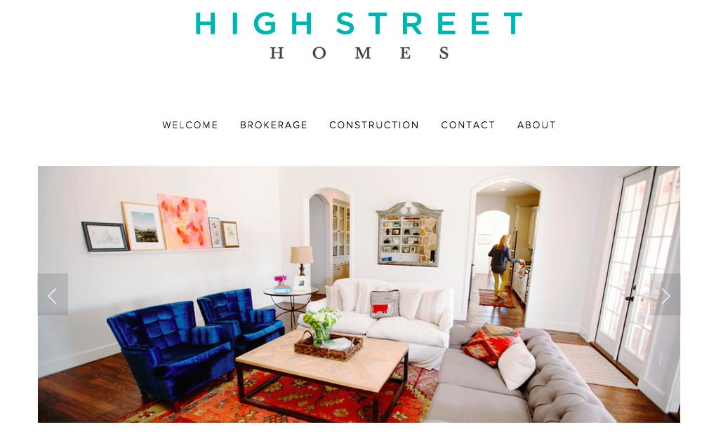 High Street Homes Homepage 2