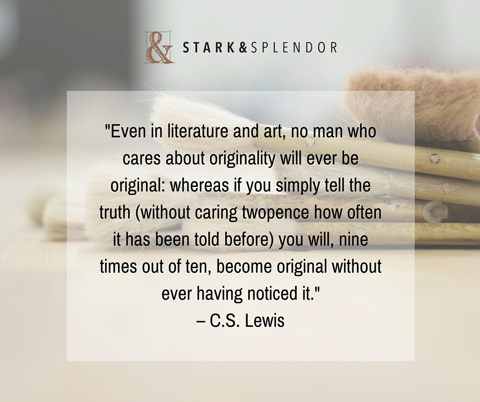 C.S. Lewis Originality Quote
