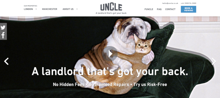 Uncle-Homepage