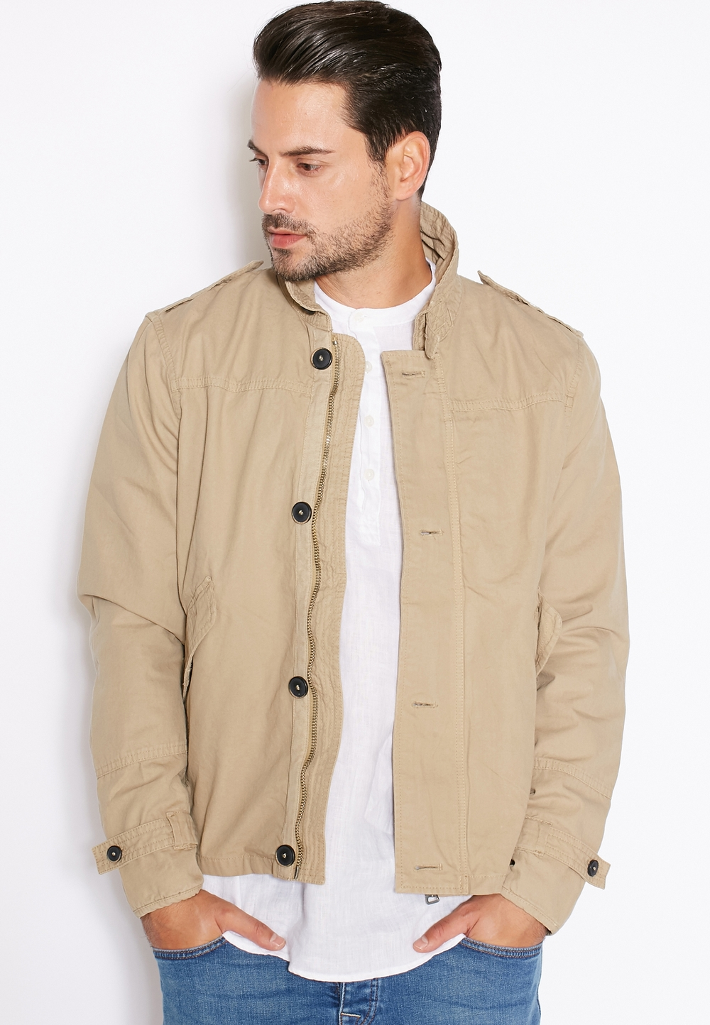 MANGO MAN// Fitted Jacket// 359 AED