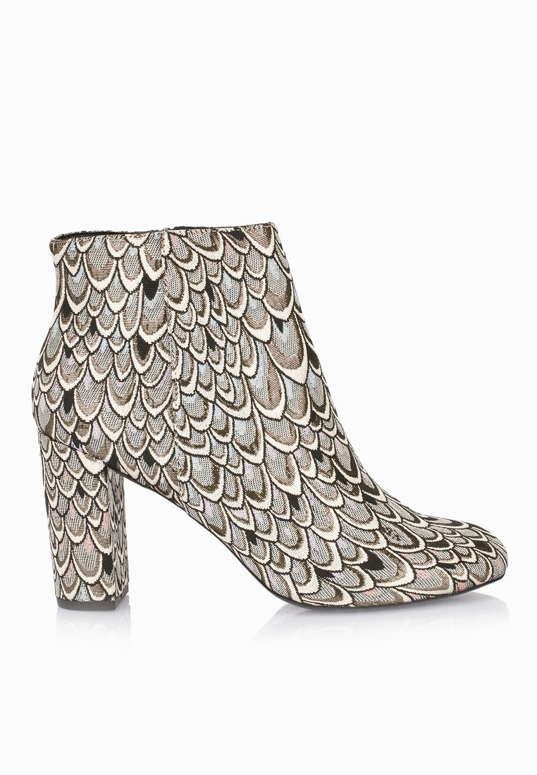 MISS SELFRIDGE// Brocade Ankle Boots// 385 AED/SAR