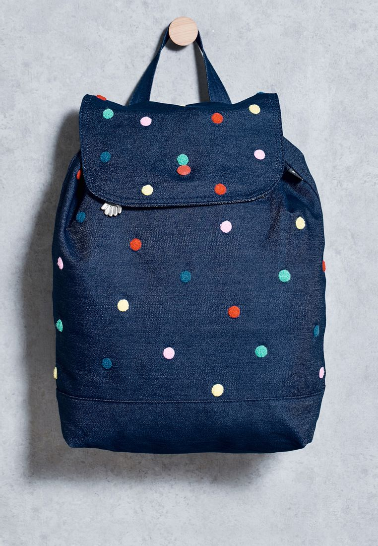 LAZY OAF//Polka Dot Backpack//255 AED/SAR