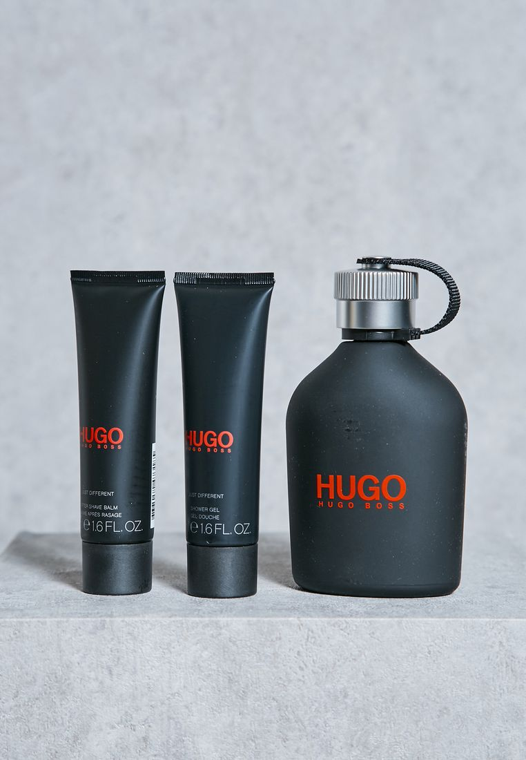 HUGO BOSS//Just Different 150Ml Edt+50Ml As+50Ml Sg//285 AED/SAR