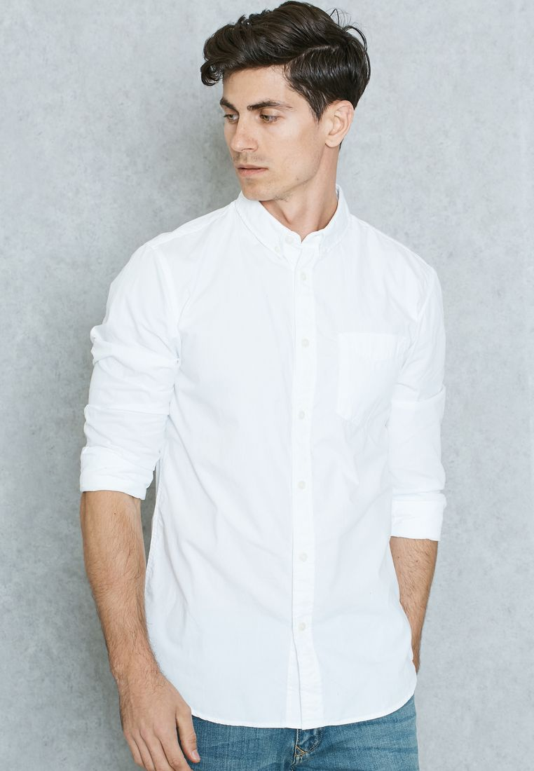JACK & JONES ORIGINALS//Slim Fit Shirt//130 AED/SAR